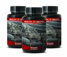 Best Male Sexual Pills - Deer Antler Plus 555mg - Saw Palmetto 1000 3B