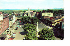 Watertown, NY   Bird's Eye View Of Public Square  1950s