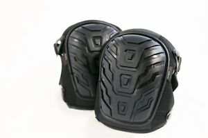 Worktec USA Pro Heavy Duty Comfortable Gel Knee Pads With Double Clips for Work