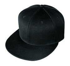 New Fitted Retro Flat Bill Vintage Hip Hop Snapback Baseball Hats Caps Visor
