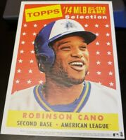 ROBINSON CANO 2014 Topps Heritage MLB All-Star Game Fan Fest JUMBO 5x7 SGA Promo