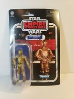 Star Wars Retro C-3PO Action Figure 3.75 Kenner Empire Strikes Back 2020 MOC