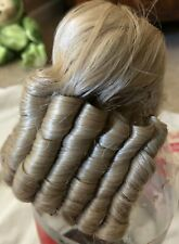 Dollspart Size 7 Wig, Dyned LLC Blonde in plastic and box