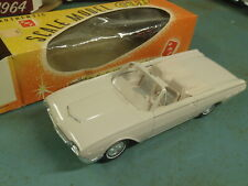 1962 FORD THUNDERBIRD CONVERTIBLE DEALER PROMO 62 SPORTS ROADSTER TBIRD 1/25 BOX