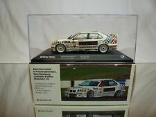 MINICHAMPS BMW 320i E36 - JAMES BOND 007 GOLDENEYE - CECOTTO 1:43 - VERY RARE