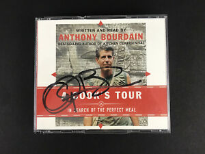 SIGNED Anthony Bourdain A Cook's Tour In Search Of The Perfect Meal 6 CDs 2001