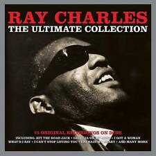 RAY CHARLES - THE ULTIMATE COLLECTION - 75 ORIGINALS RECORDINGS (NEW SEALED 3CD)