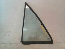 Drivers Rear Stationary Vent Glass for 91-93 Ford Escort