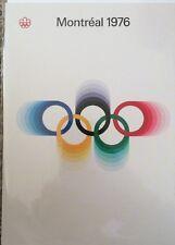 Scheda UFFICIALE Museo OLIMPICO numero univoco MONTREAL 1976 VUOTO London Compleanno