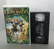 The Road to El Dorado VHS 2000