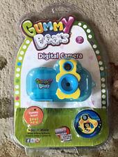 Gummy Bears Sakar 92024 Digital Camera - Blue New Sealed