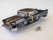 #3 1957 Bel Air Stock Car HO Slot Car Body Fits Old Aurora & Dash Tjet Chassis