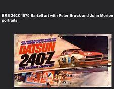 BRE Datsun 240-Z 1970 National Champion / Brock/ Morton/Car Poster! Own It!