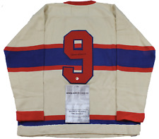 MAURICE RICHARD SIGNED Wool CCM® JERSEY W/COA Limited Very RARE autographed