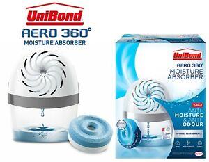Unibond Aero 360 2in1 Room Damp Moisture Absorber Natural Home Dehumidifier