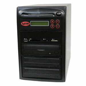 SySTOR 1-2 USB/SD/CF/MS/MMC MultiMedia Backup Copier to CD DVD Duplicator