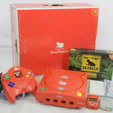 Dreamcast SEAMAN Xmas Package Console System Limited Tested Ref/019010063347