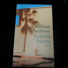 William Faulkner, Licht im August