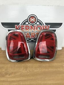 BMW MINI F56 LCI UNION JACK REAR LIGHTS 7435133 7435134