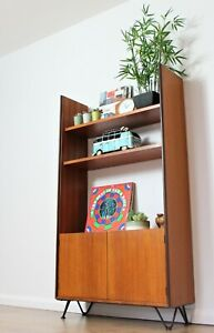 Vintage Retro G Plan Bookcase Shelving Hairpin Legs Teak Storage Mid Century..