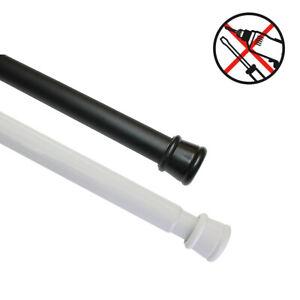 GARDINIA Spannstange Ø 23/26 mm, ausdrehbar, Metall, ohne Bohren und Schrauben
