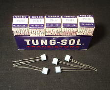 Tested! Qty 5: 2N414 Tung-Sol Transistors Germanium PNP 2N404 NOS FuzZ Big Muff