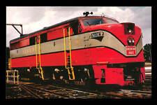 Green Bay & Western ALCO FA1u diesel locomotive train railroad postcard