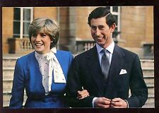Royalty Marriage Prince of Wales + Diana Spencer PPC 1981