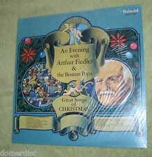 Arthur Fiedler And The Boston Pops Great Songs Of Christmas LP Sealed Fleetwood