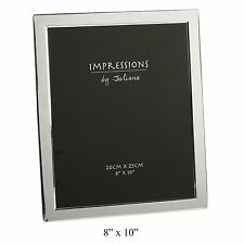 Silver Plated Picture Frame 8 X 10 by Juliana
