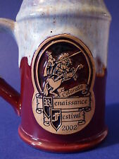 BEER Mug Coffee Glass Tea Cup Stein ~ 2002 Colorado Renaissance Festival