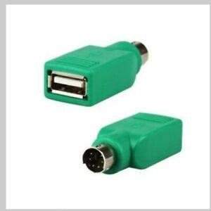 Adaptateur Convertisseur Clavier Souris PS/2 Mâle USB Femelle
