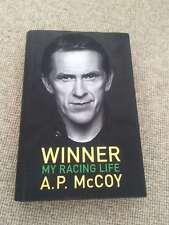 A P McCoy WINNER MY RACING LIFE hardback 2015 Orion reprint, Fine      Winner: M