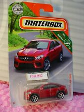 2019 MATCHBOX #10 MERCEDES-BENZ GLE COUPE☆metallic red☆MBX ROAD TRIP ☆ case N