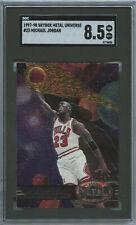 1997-98 Metal Universe MICHAEL JORDAN SGC 8.5 Chicago Bulls