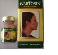 WARTOSIN WART REMOVER FROM FACE,NECK,CHEEK/AXILLA MOLE TAG REMOVER 3 ML/herbal