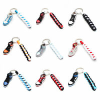 3D Mini Sneaker Shoes Keychain Bred Chicago Toe With Strings for Air Jordan 1