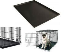 Dog Crate Replacement Pan 36 Inch Pet Dogs Kennel Floor Tray Leak Proof Plastic