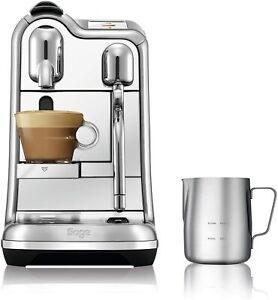Sage Nespresso Creatista Pro Coffee Machine Brushed Stainless Steel SNE900BSS
