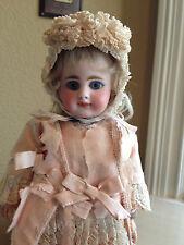 "Super Rare Antique Simon Halbig 939 Bisque Doll 9"" Cabinet Size All Original Wow"