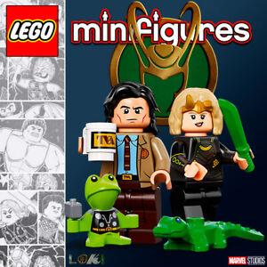 LEGO Marvel Super Heroes Minifigures #71031 - Loki + Sylvie - 100% NEW / NEUF