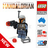 Genuine LEGO® Minifigure - STAR WARS MANDALORIAN Tribe Warrior | Orange/Blue