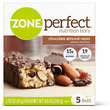 ZonePerfect Nutrition Bars, Chocolate Almond Raisin, 5 Count