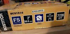 Bostitch Bcs1516 15 12 Gauge 2 Inch Hardwood Flooring Staple 7000 Open Box
