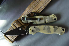 Spyderco Paramilitary 2 C81 Plain Edge 9Cr18Mov Blade Camo G10 *MADE IN CHINA*