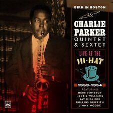 Charlie Parker  BIRD IN BOSTON  LIVE AT THE HI-HAT 1953-1954 (2-CD)