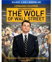 The Wolf of Wall Street [New Blu-ray] With DVD, Widescreen, Subtitled, 2 Pack,