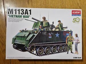 Academy 1/35 M113A1 A.P.C Vietnam War Plastic Model Kit #13266