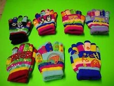 New Cute Kids' Winter Super Soft Kids' Gloves Assorted Colors Winter Glove