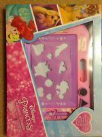 Disney Princess Magnetic Scribbler with Stencil & Stickers. Bnib